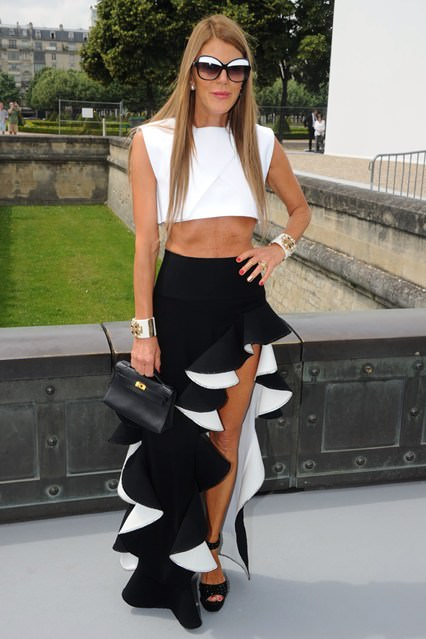 Anna-Dello-Russo Not Sure On The Skirt