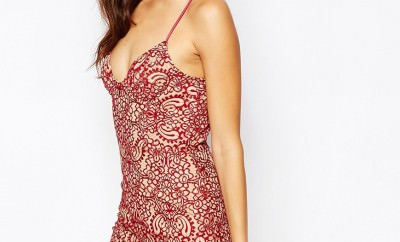 For Love and Lemons Vika Mini Dress in Red £280.00 http://bit.ly/1P0syQe