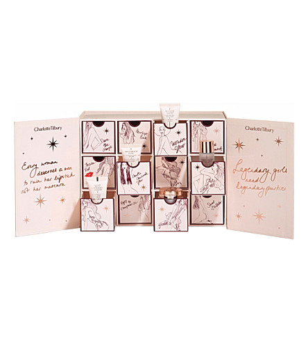 CHARLOTTE TILBURY World of legendary parties advent calendar