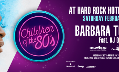 Barbara Tucker Children of the 80s at Hard Rock Hotel Tenerife poster